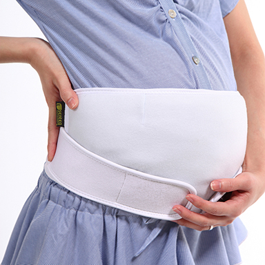 Anti-electromagnetic radiation wave maternity supporting belt
