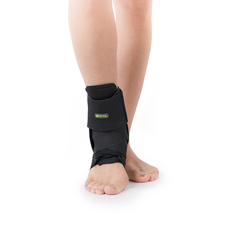 Ankle Brace with Stabilizer Strap